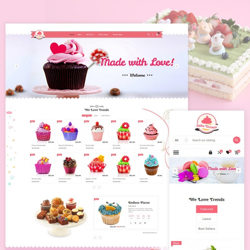 Cake Dream - Cake Shop